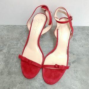 Red Jessica Simpson Sandals